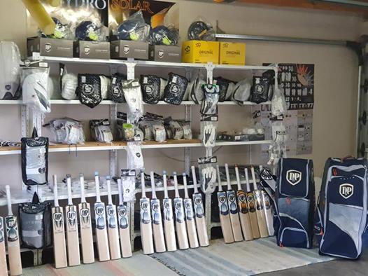 Latest DP cricket gear!